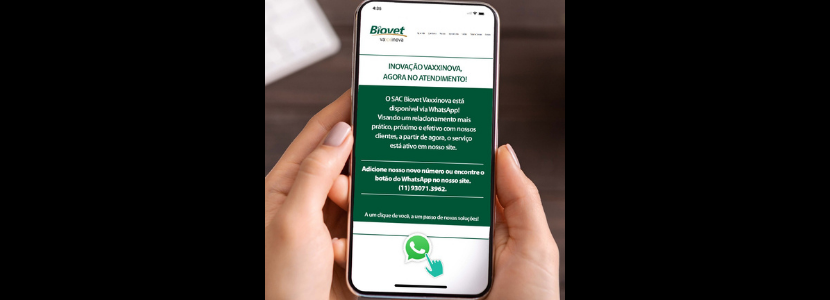 SAC Biovet WhatsApp